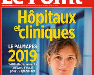 Classement des établissements 2019 du magazine Le Point, les établissements du Havre nominés